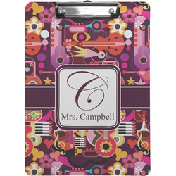 Abstract Music Clipboard (Personalized)