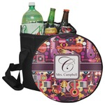 Abstract Music Collapsible Cooler & Seat (Personalized)