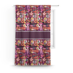 Abstract Music Curtain (Personalized)