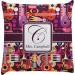 Abstract Music Decorative Pillow Case (Personalized)