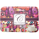 Abstract Music Dish Drying Mat (Personalized)