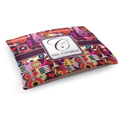 Abstract Music Dog Bed (Personalized)