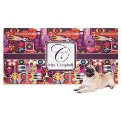 Abstract Music Dog Towel (Personalized)