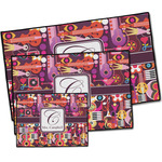 Abstract Music Door Mat (Personalized)