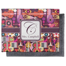 Abstract Music Microfiber Screen Cleaner (Personalized)