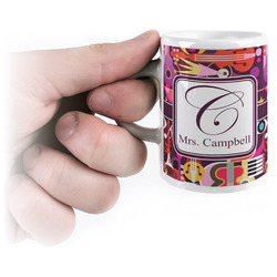 Abstract Music Espresso Cups (Personalized)