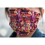 Abstract Music Face Mask Cover (Personalized)