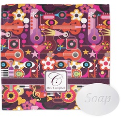 Abstract Music Wash Cloth (Personalized)