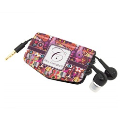 Abstract Music Genuine Leather Cord Wrap (Personalized)