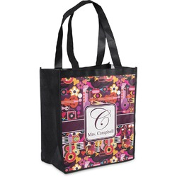 Abstract Music Grocery Bag (Personalized)