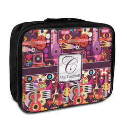 Abstract Music Insulated Lunch Bag (Personalized)