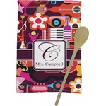 Abstract Music Kitchen Towel - Full Print (Personalized)