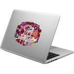 Abstract Music Laptop Decal (Personalized)