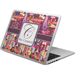 Abstract Music Laptop Skin - Custom Sized (Personalized)