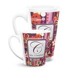 Abstract Music Latte Mug (Personalized)
