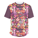 Abstract Music Men's Crew T-Shirt (Personalized)
