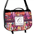 Abstract Music Messenger Bag (Personalized)