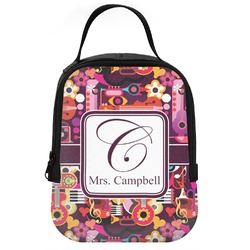 Abstract Music Neoprene Lunch Tote (Personalized)