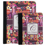 Abstract Music Padfolio Clipboard (Personalized)
