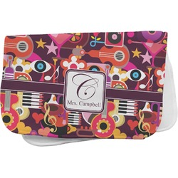 Abstract Music Burp Cloth (Personalized)