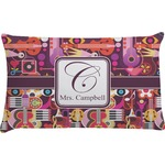 Abstract Music Pillow Case (Personalized)