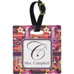 Abstract Music Luggage Tags (Personalized)