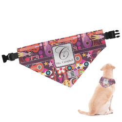 Abstract Music Dog Bandana (Personalized)