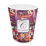 Abstract Music Plastic Tumbler 6oz (Personalized)