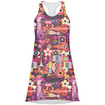 Abstract Music Racerback Dress (Personalized)