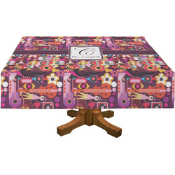 Abstract Music Tablecloth (Personalized)