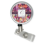 Abstract Music Retractable Badge Reel (Personalized)