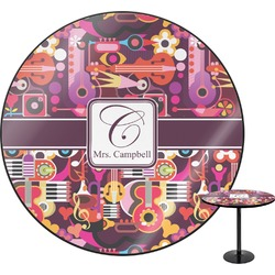 Abstract Music Round Table (Personalized)
