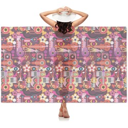Abstract Music Sheer Sarong (Personalized)