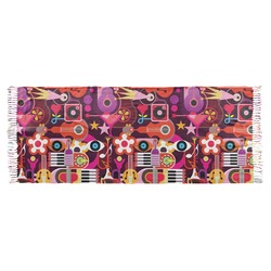 Abstract Music Faux Pashmina Scarf (Personalized)