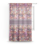 Abstract Music Sheer Curtains (Personalized)