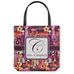 Abstract Music Canvas Tote Bag (Personalized)