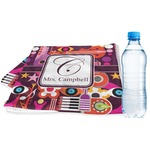 Abstract Music Sports Towel (Personalized)