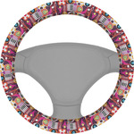 Abstract Music Steering Wheel Cover (Personalized)