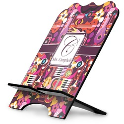 Abstract Music Stylized Tablet Stand (Personalized)