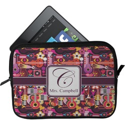 Abstract Music Tablet Case / Sleeve (Personalized)
