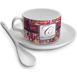 Abstract Music Tea Cups (Personalized)