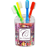Abstract Music Toothbrush Holder (Personalized)