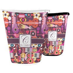 Abstract Music Waste Basket (Personalized)