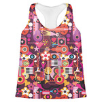 Abstract Music Womens Racerback Tank Top (Personalized)