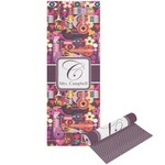 Abstract Music Yoga Mat - Printable Front and Back (Personalized)