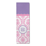 Pink, White & Purple Damask Runner Rug - 3.66'x8' (Personalized)
