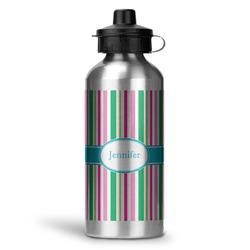 Grosgrain Stripe Water Bottle - Aluminum - 20 oz (Personalized)