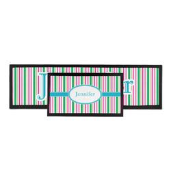 Grosgrain Stripe Bar Mat (Personalized)