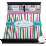 Grosgrain Stripe Duvet Covers (Personalized)