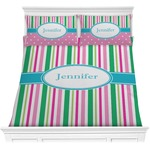 Grosgrain Stripe Comforters (Personalized)